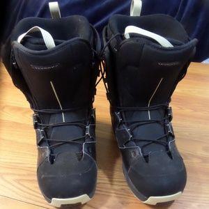 Salomon Auto-fit MADRI Snowboard BOOTS Size 8